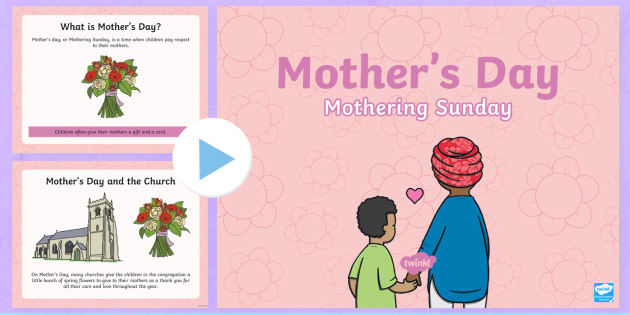 KS1 Mothers Day Assembly PowerPoint Presentation