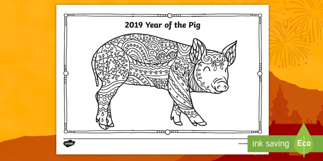 NEW Year of the Pig Mindfulness
