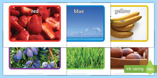 Colour Display Photos