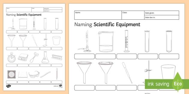 Identifying Laboratory Equipment Worksheet Answers | Worksheet Resume