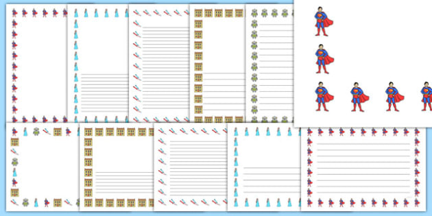Toys Themed Page Borders - toy, page borders, borders, writing, literacy