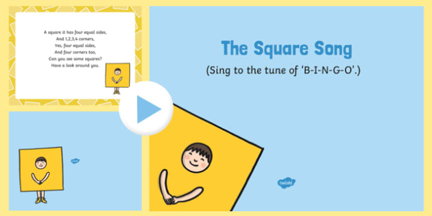 The Square Song PowerPoint