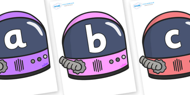 Phoneme Set on Astronaut Helmets - Phoneme set, phonemes, phoneme, Letters and Sounds, DfES, display, Phase 1, Phase 2, Phase 3, Phase 5, Foundation, Literacy