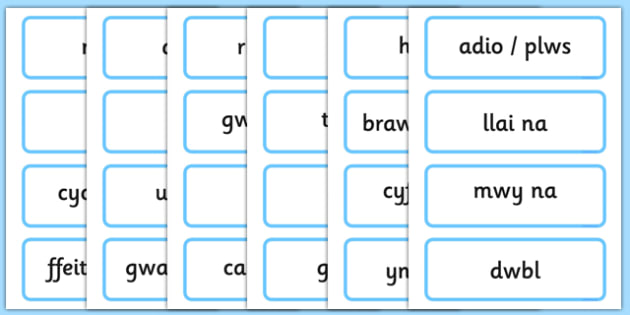 Maths KS1 Welsh - maths, ks1, welsh, wales, language, word cards, word, cards