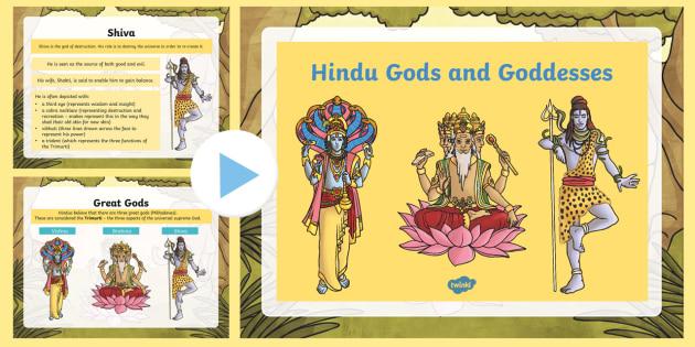 hindu gods and goddesses powerpoint hindu gods goddesses