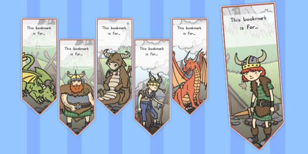 How to Train Your Dragon Bookmarks - australia, dragon, train