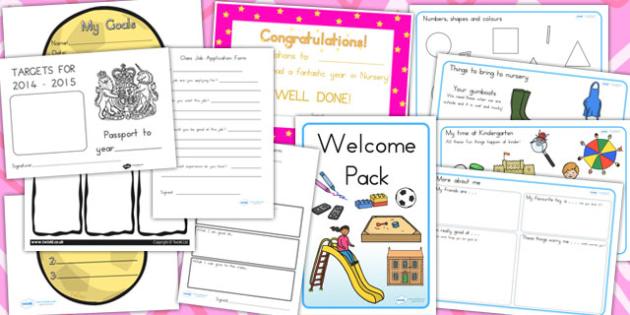 Australia - Kindergarten to F-2 Transition Resource Pack