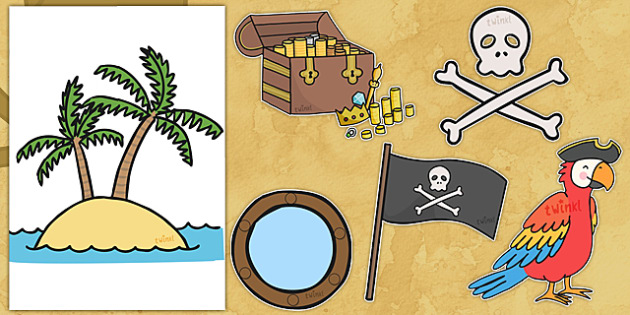 Pirates Role Play Display Pack - pirate images, pirates, pirate role play, pirate role play props, pirate role play display, pirate images pack, role play