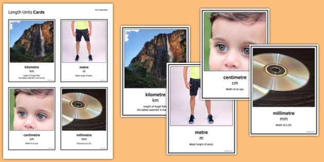 Maths Intervention Length Unit Cards - SEN, special needs, intervention, maths, measure, length
