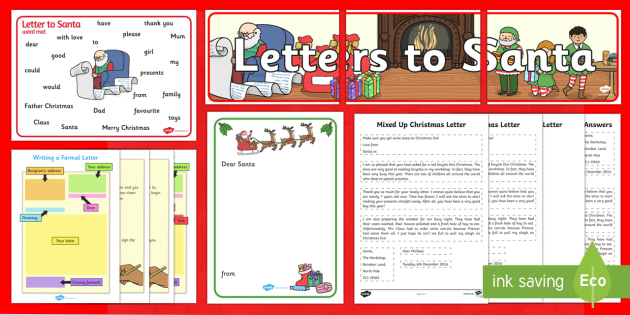 Writing a letter to santa resource pack christmas nativity writing a letter to santa resource pack christmas nativity jesus xmas spiritdancerdesigns Image collections