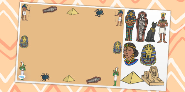 ancient egypt editable powerpoint background template