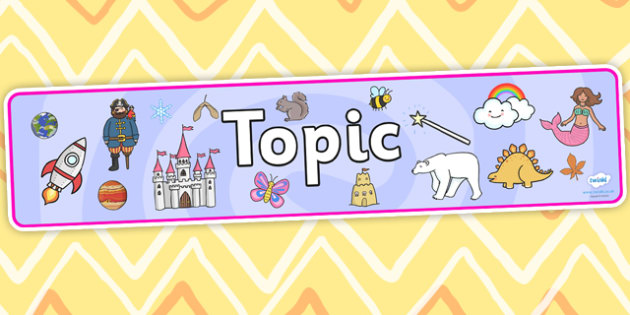 Topic Display Banner - topic, display banner, banner, display, banner for display, display header, header for display, header, topic banner, topic display