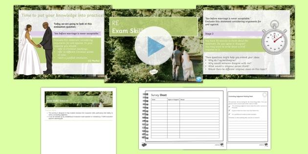 Edexcel GCSE: Concluding Evaluation Questions PowerPoint Pack