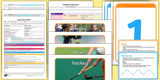 Foundation PE (Reception) - Games - Best of Balls Lesson pack 1: Move the Ball - EYFS, PE, Physical Development, Planning