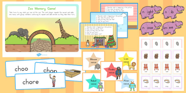 Teaching Assistant Speech and Language Resource Pack - australia