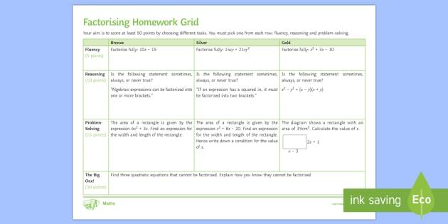 ks3 homework