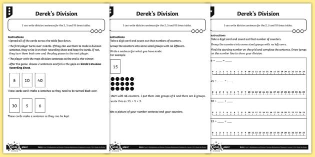 writing division sentences differentiated worksheet worksheets division. Black Bedroom Furniture Sets. Home Design Ideas