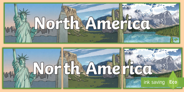 North America Display Banner - North America, display ...