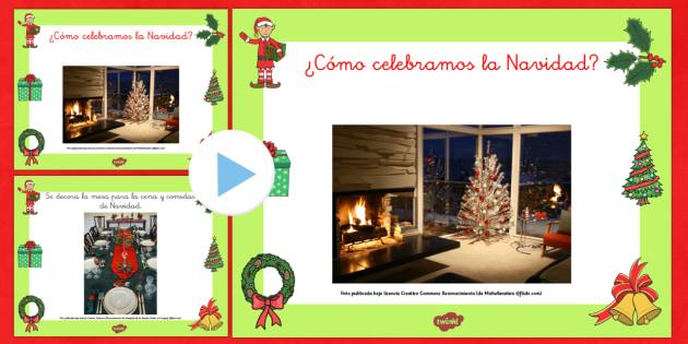 Presentación: ¿Cómo celebramos la Navidad? - navidad, otras culturas, navidad por el mundo