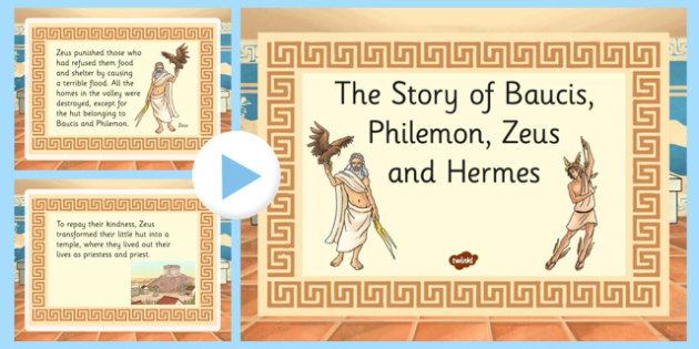 A Story About Zeus PowerPoint