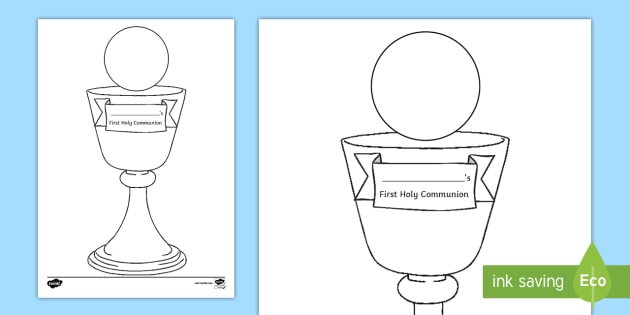 14+ Communion Coloring Page Printables ❤+❤ Catholic Communion Pages | 315x630