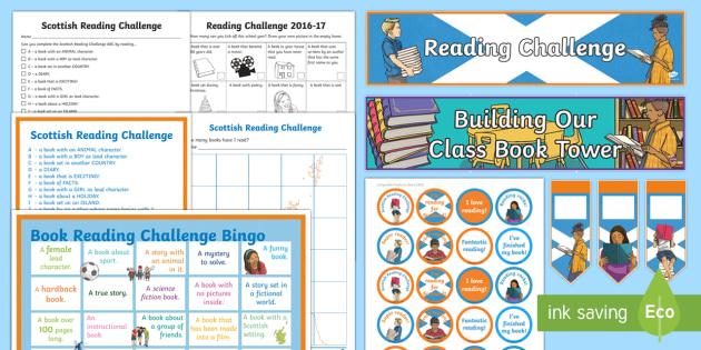 Scottish Reading Challenge Resource Pack - Scottish Reading Challenge, First Minister's Reading Challenge, book, reading, stories,Australia