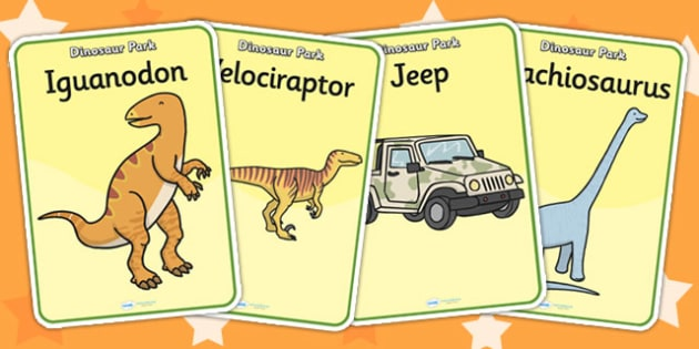 Dinosaur Park Role Play Posters - dinosaur park, display poster, dinosaur park role play, role play, dinosaur park display poster, dinosaur themed