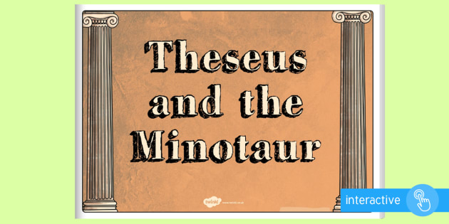 Theseus and the Minotaur eBook - myths, legends, stories, books