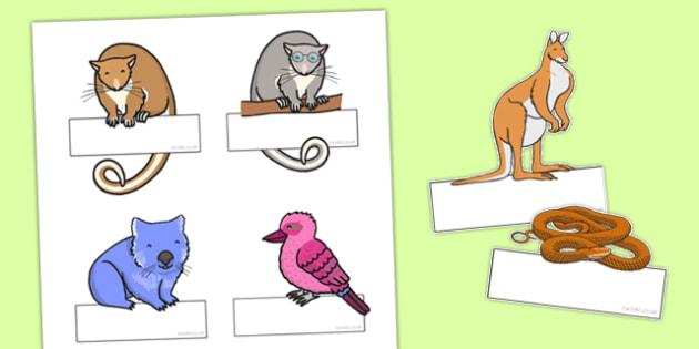 Bush Magic Editable Self Registration - australia, possum magic, bush magic, self registration