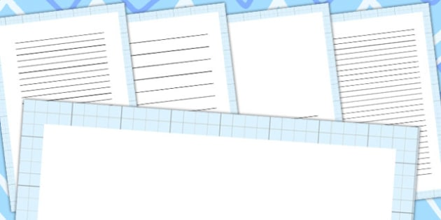 Grid Page Borders - writing, frames, border, frame, pages, grids