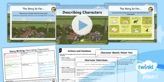 PlanIt Y5 World War II: To Support Teaching on Goodnight Mister Tom Lesson Pack Story Writing (2)