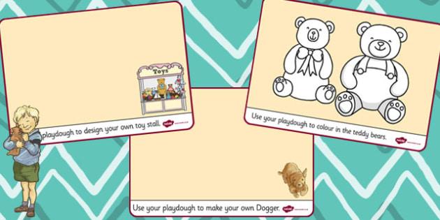 Playdough Mats to Support Teaching on Dogger - mat, activity, activities, dogger, play