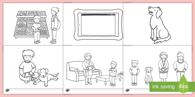 Buddy The Dogu0027s Internet Safety Colouring Pages   Online Safety, E Safety,  Satying Safe