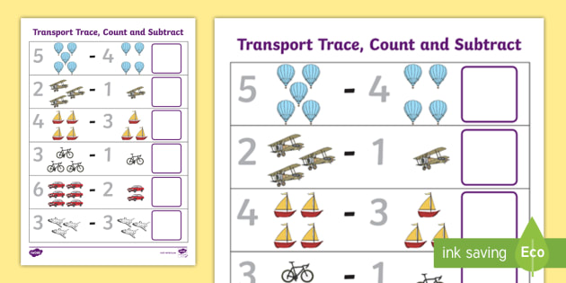 new transport trace count and subtract activity. Black Bedroom Furniture Sets. Home Design Ideas