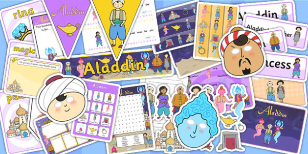 Aladdin Resource Pack - aladdin, stories, story, aladdin pack