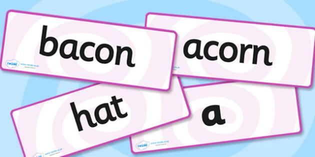Phase 5 Graphemes with Alternative Pronunciations Word Cards - phase five, graphemes, pronunciations, literacy, phase 5, alternatrive pronunciations