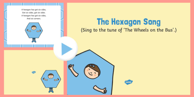 The Hexagon Song PowerPoint