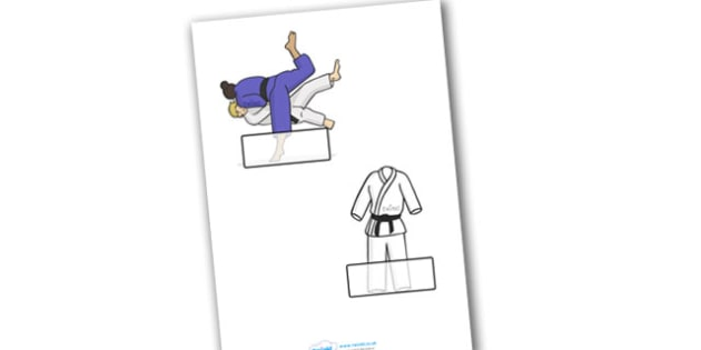 The Olympics Judo Self Registration - Judo, Olympics, Olympic Games, sports, Olympic, London, 2012, Self registration, register, editable, labels, registration, child name label, printable labels, activity, Olympic torch, events, flag, countries, med