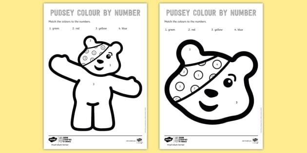 pudsey bear homework