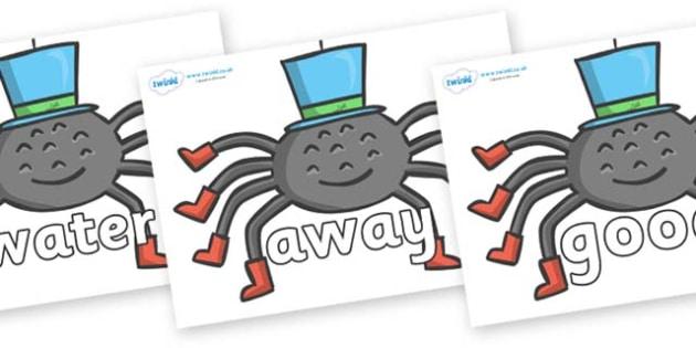Next 200 Common Words on Spiders - Next 200 Common Words on  - DfES Letters and Sounds, Letters and Sounds, Letters and sounds words, Common words, 200 common words