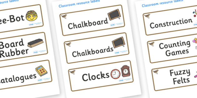 Nightingale Themed Editable Additional Classroom Resource Labels - Themed Label template, Resource Label, Name Labels, Editable Labels, Drawer Labels, KS1 Labels, Foundation Labels, Foundation Stage Labels, Teaching Labels, Resource Labels, Tray Labe