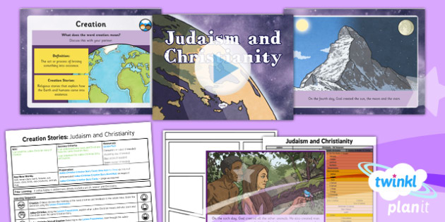 RE: Creation Stories: Judaism and Christianity Year 6 Lesson Pack 1