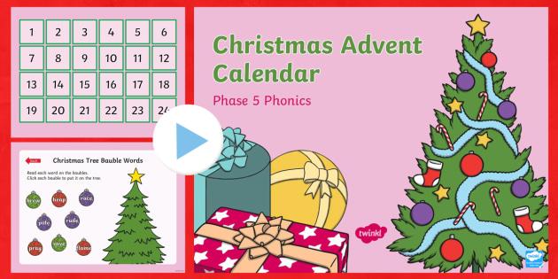 how to make an advent calendar on powerpoint