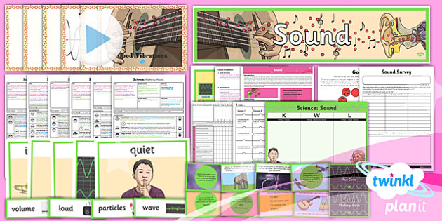 Science: Sound Year 4 Unit Pack