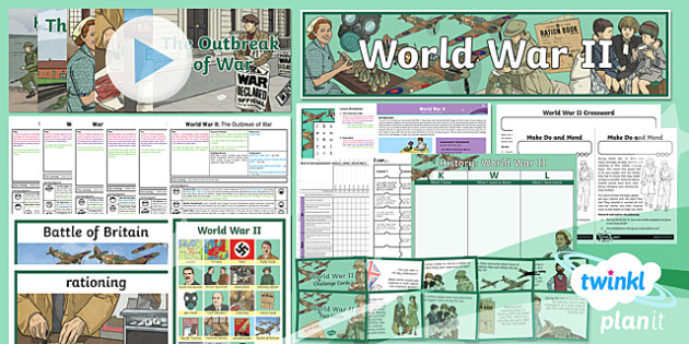 World War 2 Unit Pack - Year 5 & 6 History