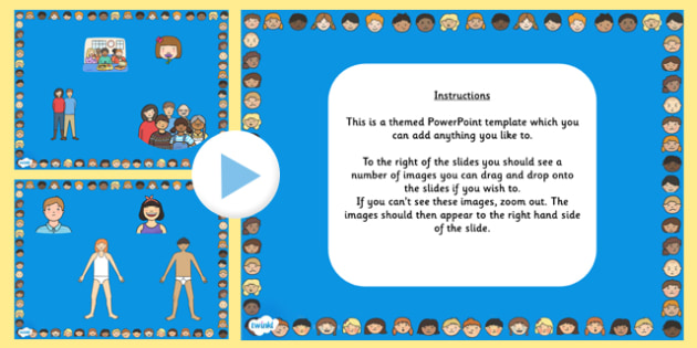 Ourselves Themed Editable PowerPoint Background Template - ourselves, editable powerpoint, powerpoint, background template, themed powerpoint, editable