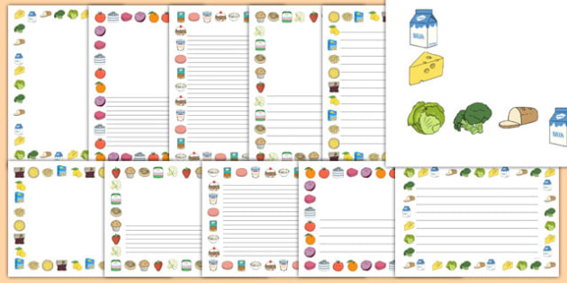 La Fruta Y La Verdura Pack De Bordes