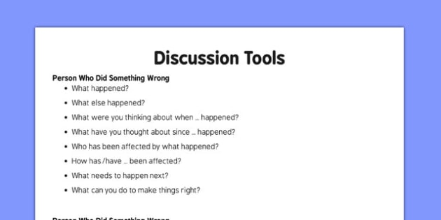 Incident Discussion Tools - talking, speaking and listening, support, ks1, key stage 1, early years,