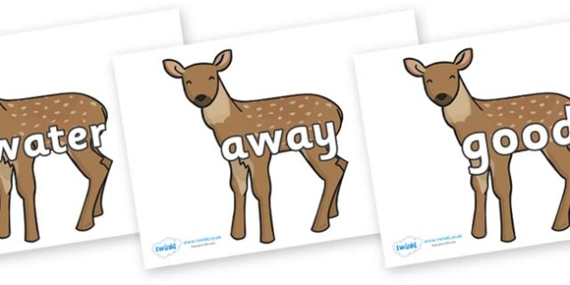 Next 200 Common Words on Fawns - Next 200 Common Words on  - DfES Letters and Sounds, Letters and Sounds, Letters and sounds words, Common words, 200 common words