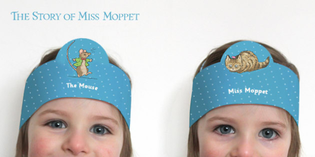 The Story of Miss Moppet Role Play Headband - miss moppet, role-play, headband, role-play headband, beatrix potter
